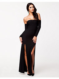 Club L Off Shoulder Maxi Dress
