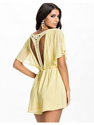 Club L Embellished T-Back Playsuit