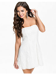 Club L Bandeau Lace Dress