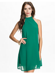 Club L High Neck Swing Dress