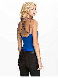 Club L Criss Cross Jersey Bodysuit