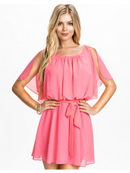 Club L Chiffon Angel Tie Up Detail Dress