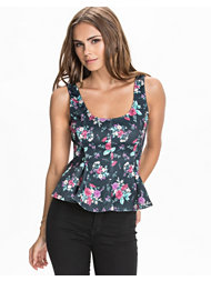 Club L Swing Peplum Top