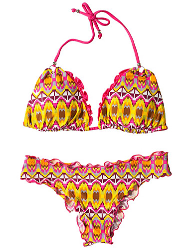 HELA SET - VITAMIN A SILVER / RIO RUFFLE REV BIKINI SET - NELLY.COM