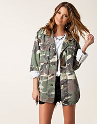 Glamorous - Oversized Military Jacket