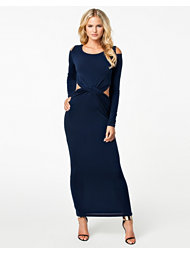 Glamorous Cold Shoulder Maxi Dress