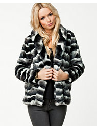 Glamorous Soft Fake Fur Coat