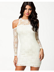 Glamorous Cold Shoulder Lace Dress