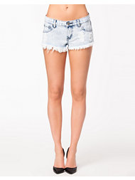 Glamorous Trashed Acid Denim Shorts