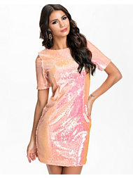 Glamorous Irredescent Sequin Dress