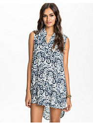 Glamorous Sleeveless Shirt Dress