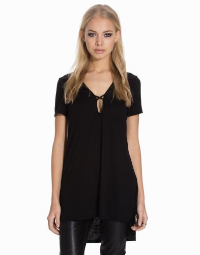Topper, Short Sleeve Shift Dress, Glamorous - NELLY.COM