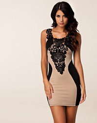 Tyra Lace Detail Dress