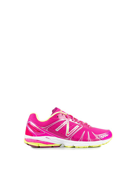W770mp4 Running Shoes - New Balance - Pink/Yellow ...