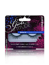Girls With Attitude Natural False Eyelashes