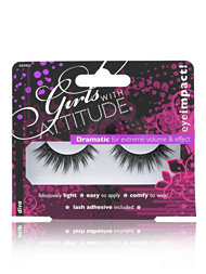 Girls With Attitude Dramatic False Eyelashes