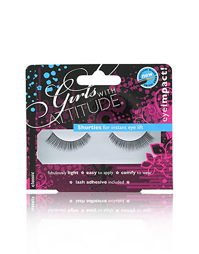 MAKE UP - GIRLS WITH ATTITUDE / SHORTIES FALSE EYELASHES - NELLY.COM