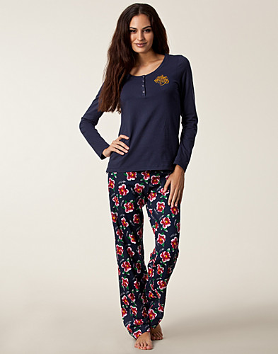 NATTPLAGG - TOMMY HILFIGER / LAURA LONG PANTS - NELLY.COM