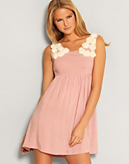 Paprika - Rose Detail Dress