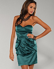 Paprika - Teal Bow Back Dress