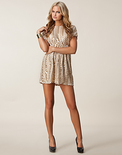 PARTY DRESSES - TFNC / EDEN SEQUIN DRESS - NELLY.COM