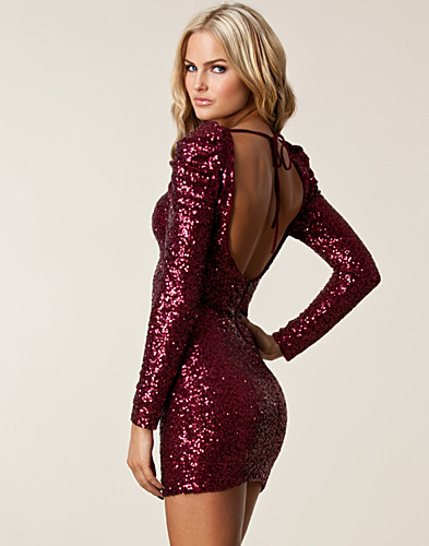 PARTY DRESSES - TFNC / ALZENA SEQUIN DRESS - NELLY.COM