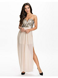 TFNC Halo Sequin Maxi Dress