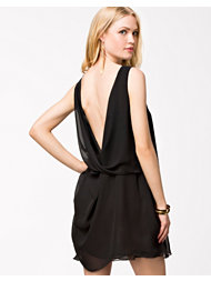 LOVE Drape Back Sleevless Dress