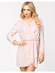 LOVE Long Sleeve Wrap Dress