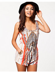 MinkPink Mayan Temple Playsuit