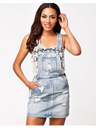 MinkPink Instinct Dungaree Dress