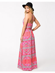 MinkPink Eastern Aztec Maxi Dress