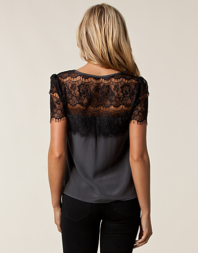 TOPS - SELECTED FEMME / KANDA LACE TOP - NELLY.COM