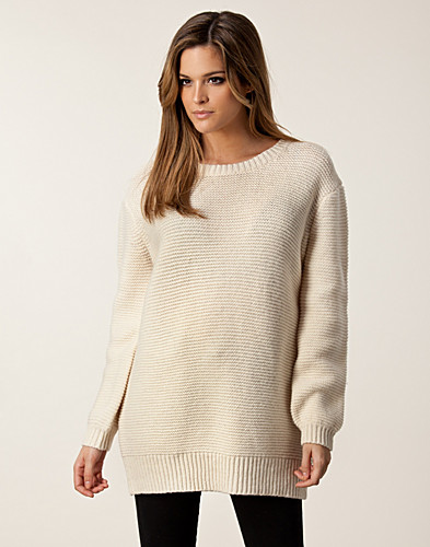 TRÖJOR - SELECTED FEMME / GLIDA KNIT PULLOVER - NELLY.COM