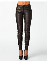 Selected Femme Bean Leather Pants