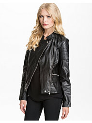 Selected Femme Dannia Leather Jacket