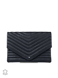 Selected Femme Lala Leather Clutch