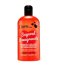 I Love... I Love...Sugared Pomegranate Bath & Shower Cream