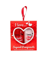 I Love... I Love...Sugared Pomegranate Treat Box