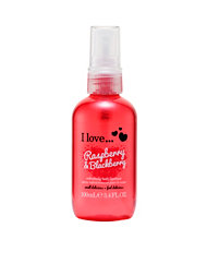 I Love... I Love...Raspberry & Blackberry Body Spritzer 100ml