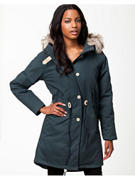 Elvine Fishtail Oil Waxed Parka