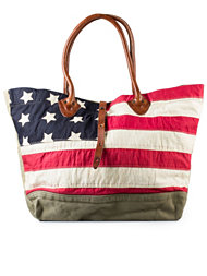 Denim & Supply Ralph Lauren Flag Tote