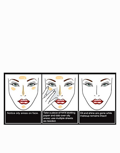 MAKE UP - NYX COSMETICS / BLOTTING PAPER - NELLY.COM
