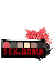Nyx Cosmetics The Sex Bomb Femme Fatale Shadow Palette