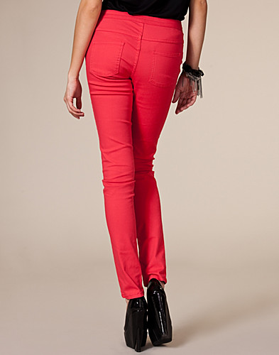 JEANS - VILA BASIC / CLEAVE 5 POCKET TWILL WOP - NELLY.COM