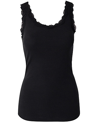 TOPS - VILA BASIC / GANIA LACE TANK TOP - NELLY.COM