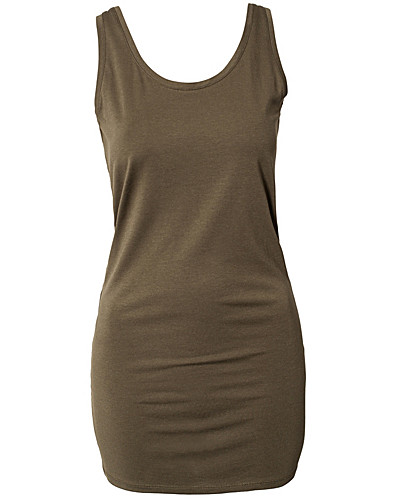 TOPPAR - VILA BASIC / OFFICIEL DEEP BACK TANK - NELLY.COM