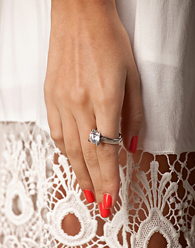 KORUT - NLY ORCHID / CRYSTAL CLEAN RING - NELLY.COM