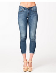 Lee Jeans Scarlett Cropped Blue Score