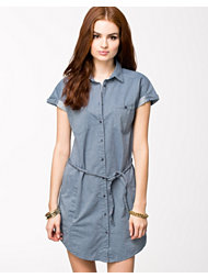 Lee Jeans Dress Blue Ice